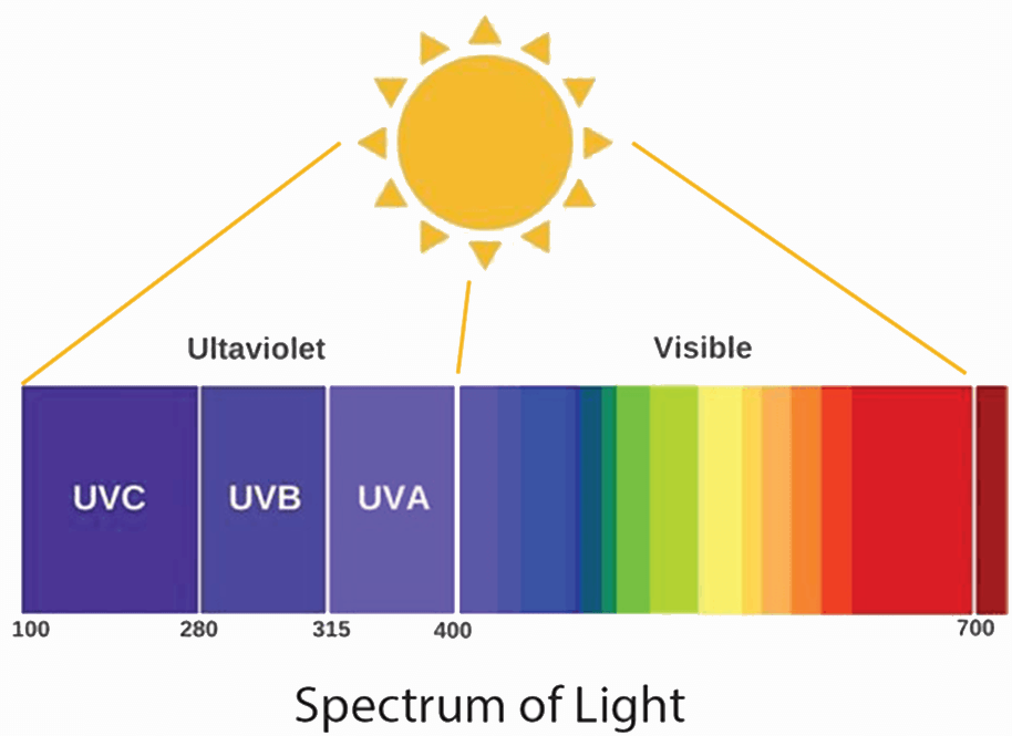 Spectrum of Light diagram